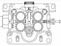 Встроенное проволкоподающее устройство KEMPPI KM4r